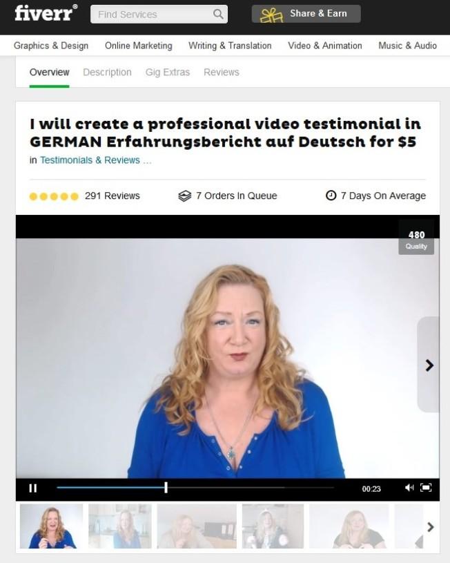 Macht nun auch Werbung für Scam-Programme. Kommt übrigens aus Deutschland.