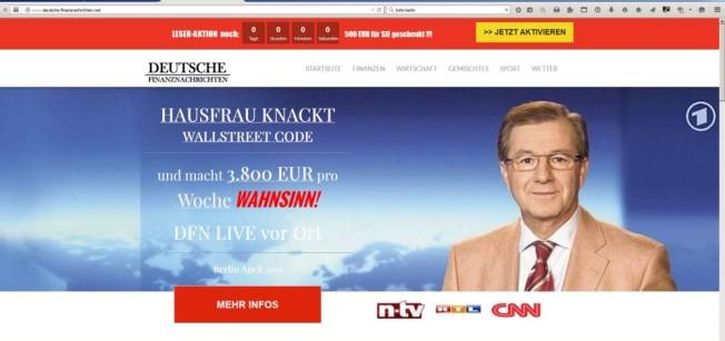 Konterfei Jan Hofer von der ARD