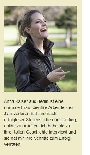 Anna Kaiser aus Berlin