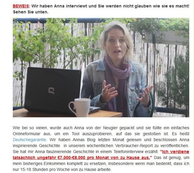 Auch das ist Anne Kaiser aus Berlin