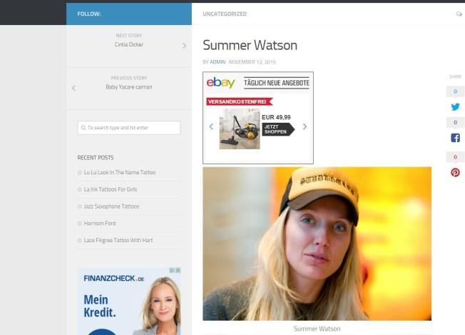 Tamara P. alias Summer Watson