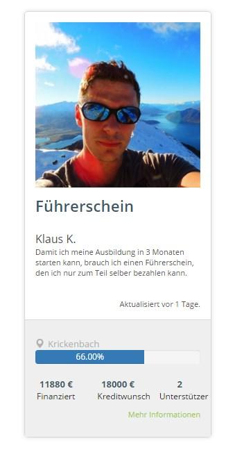 Klaus K. alias Andreas Fernandez
