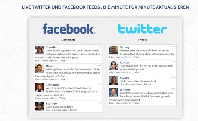 Facebook und Twitter Fakes