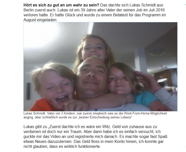 Lukas Schmidt ne watt gelogen...